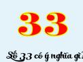 Số 33 có ý nghĩa gì và cách lựa chọn sim số đẹp HOT nhất hiện nay