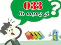 Giải đáp về sim số 033 là mạng gì và nên hay không nên  sử dụng